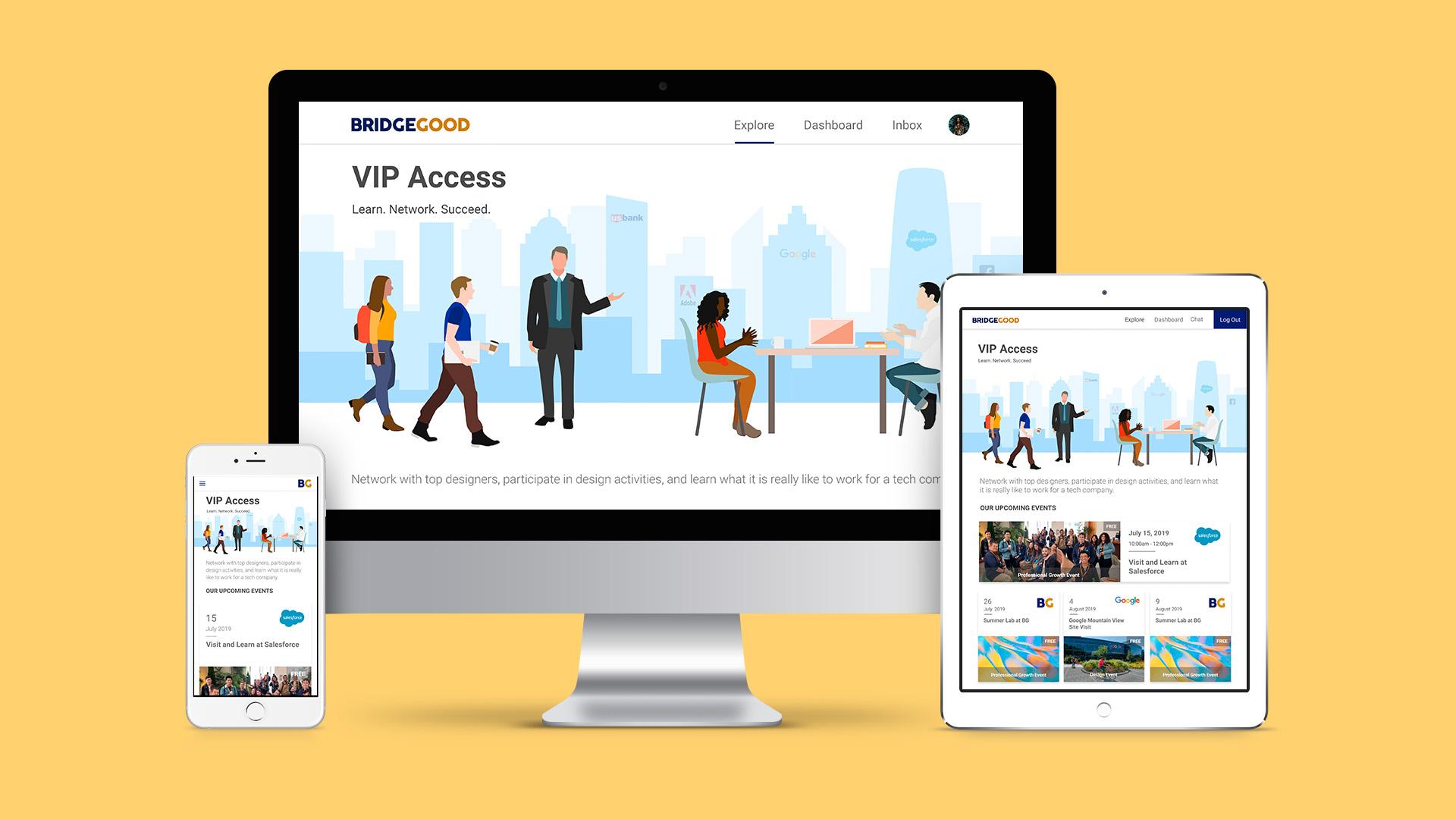 BRIDGEGOOD: VIP Events/Onboarding